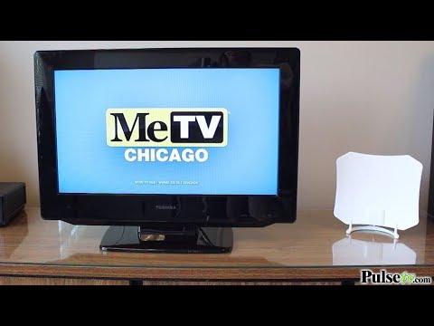 Paper-Thin Indoor TV Antenna: Omni-Directional 30 Mile Range