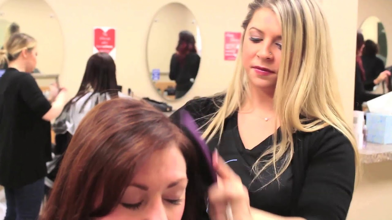 Tape In Hair Extensions With Brianna Frank Anthony Salon Chester
