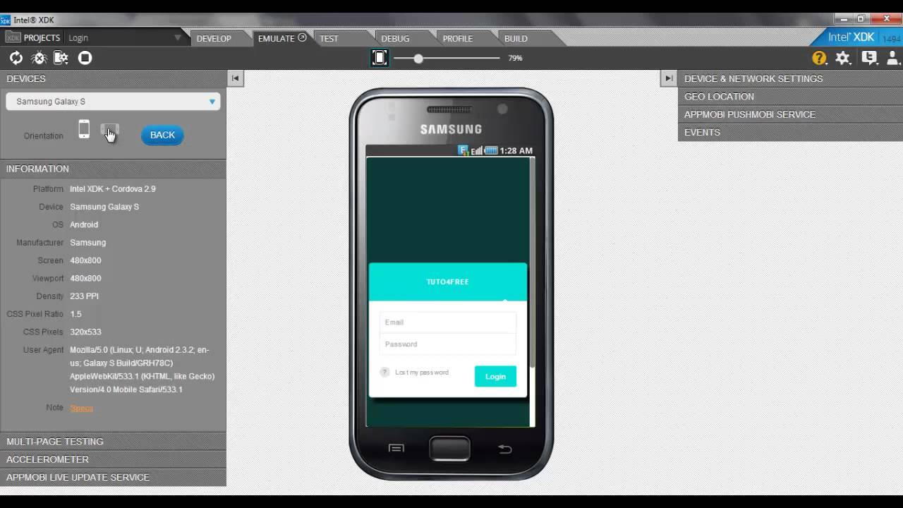 Convert Html To Mobile S