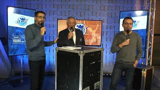 Match UTBM/VITRE - Plateau TV - Interview