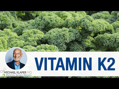 Vitamin K2 Directing calcium to your bones