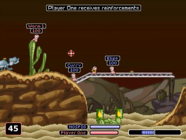 Jouez à Worms Armageddon sur Sony Playstation