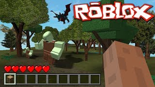 5 FAKE MINECRAFT GAMES IN ROBLOX!