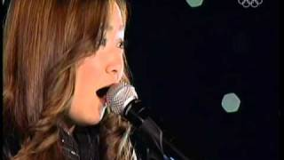 Sasha Cohen - 2010 Skate for the Heart - Note to God (Charice Live)