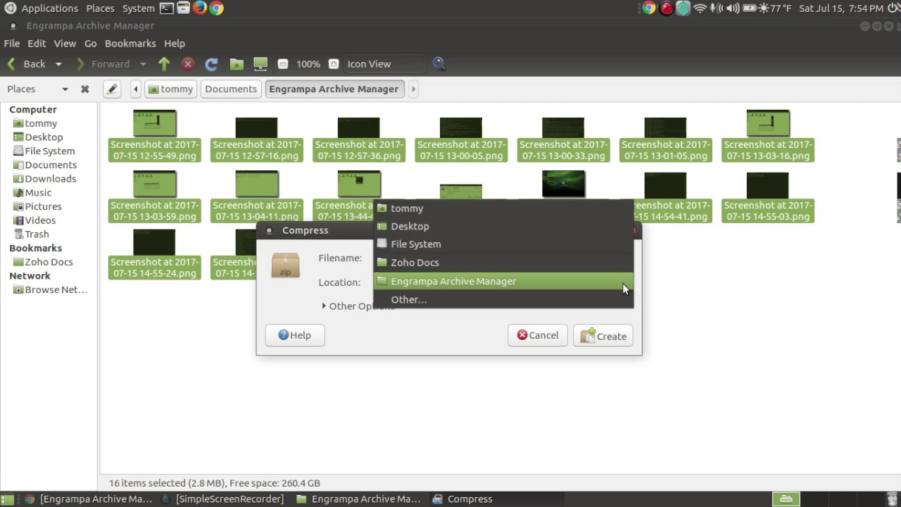 Archive Manager - Learn Ubuntu MATE