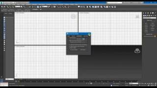 3Ds Max для начинающих. 2-ой урок. Настройка рабочего пространства