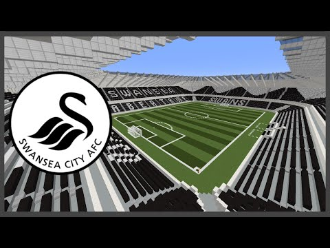 Minecraft MEGABUILD Liberty Stadium (Swansea City A.F.C.) Timelapse +DOWNLOAD | TheCraftCrusader