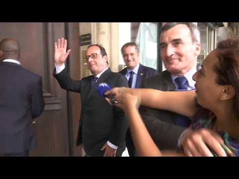 Qu'a fait François Hollande depuis la fin de son quinquennat?