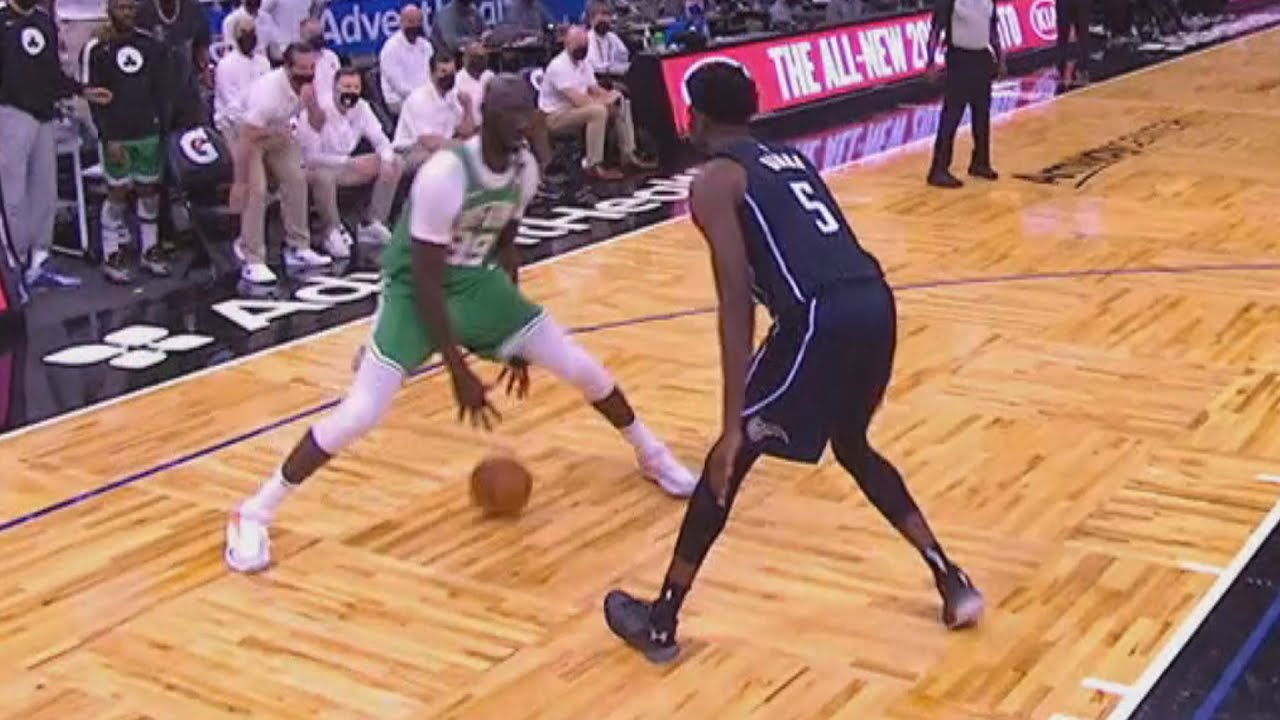 Tacko Fall Iso! Tatum 27 Kemba 32 Pts vs Magic! 2020-21 NBA Season