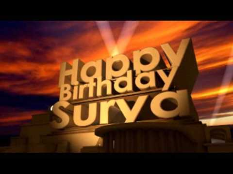 Happy Birthday Surya