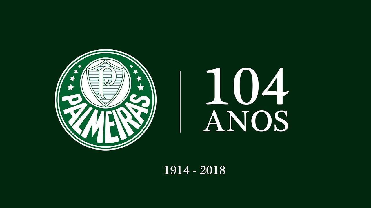 Palmeiras 104 Anos Homenagem Na U00e7 U00e3o Palmeirense YouTube
