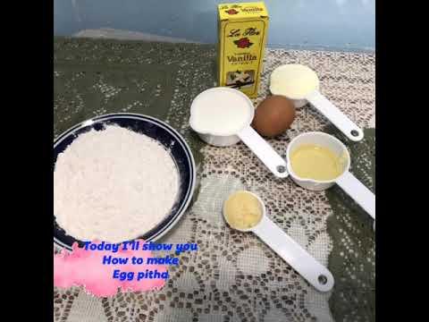 Home style || Egg pitha || easy process