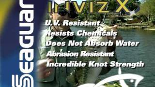 Seaguar InvizX fluorocarbon line video