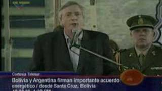 Kitchner Fue a Sta Cruz Bolivia a Construir La Patria Grande