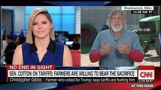 Rural American Farmer Reacts To Trump's Tariffs