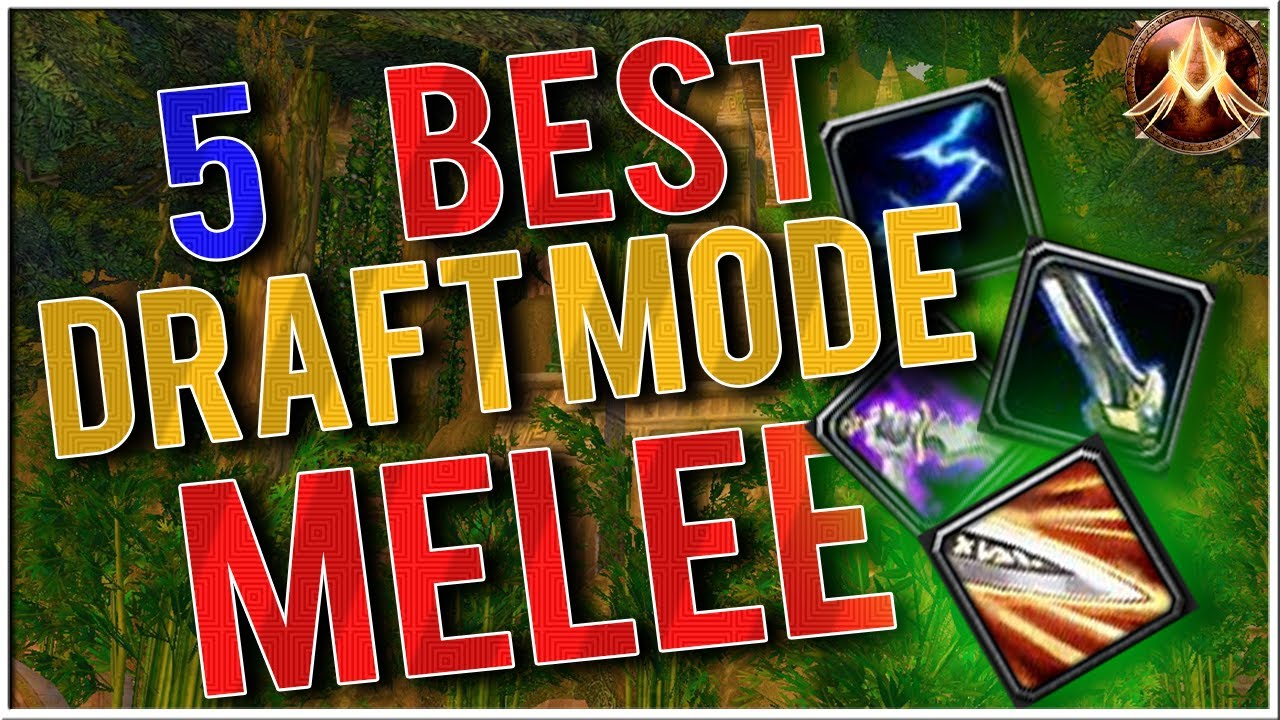 Project Ascension | The BEST Melee Starter Abilities for Draftmode|  Ascension Season 4