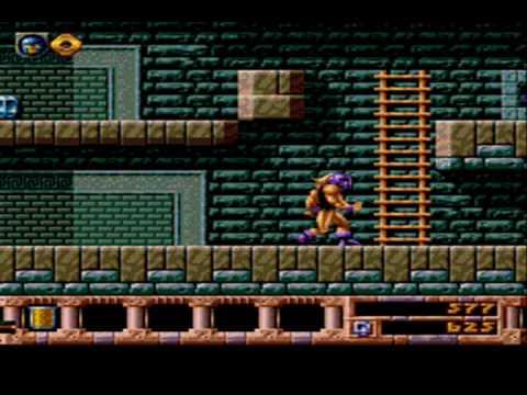 Gods (SNES & Genesis) game over