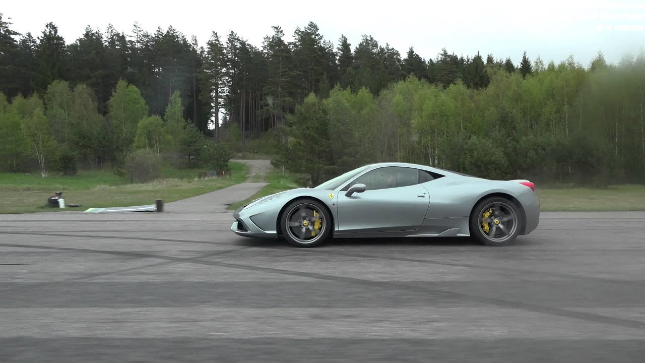 4k Ferrari 458 Speciale Vs Porsche 911 Turbo PDK Sport