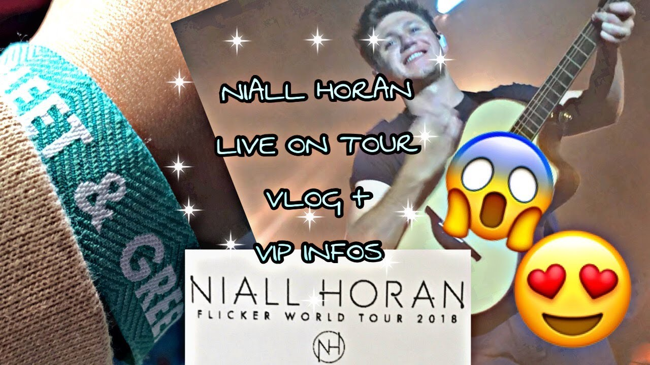 Meeting Niall Horan Concert Vlog Cologne Kessy Solo On Tour