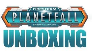 Firestorm Planetfall Starter Set Unboxing