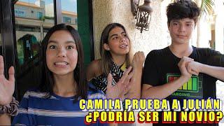 CAMILA PONE A PRUEBA JULIÁN ¿PODRÍA SER MI NOVIO? | TV Ana Emilia