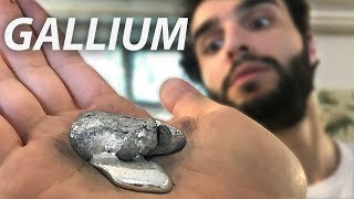 DU METAL EN FUSION DANS LA MAIN ! (Gallium)
