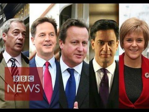Leader profiles: Nigel Farage, Nick Clegg, David Cameron, Ed Miliband & Nicola Sturgeon - BBC News