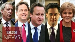 Leader profiles: Nigel Farage, Nick Clegg, David Cameron, Ed Miliband & Nicola Sturgeon - BBC News