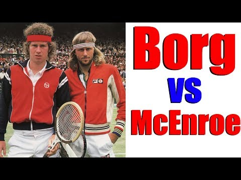 Borg vs McEnroe - Top Tennis Training Special