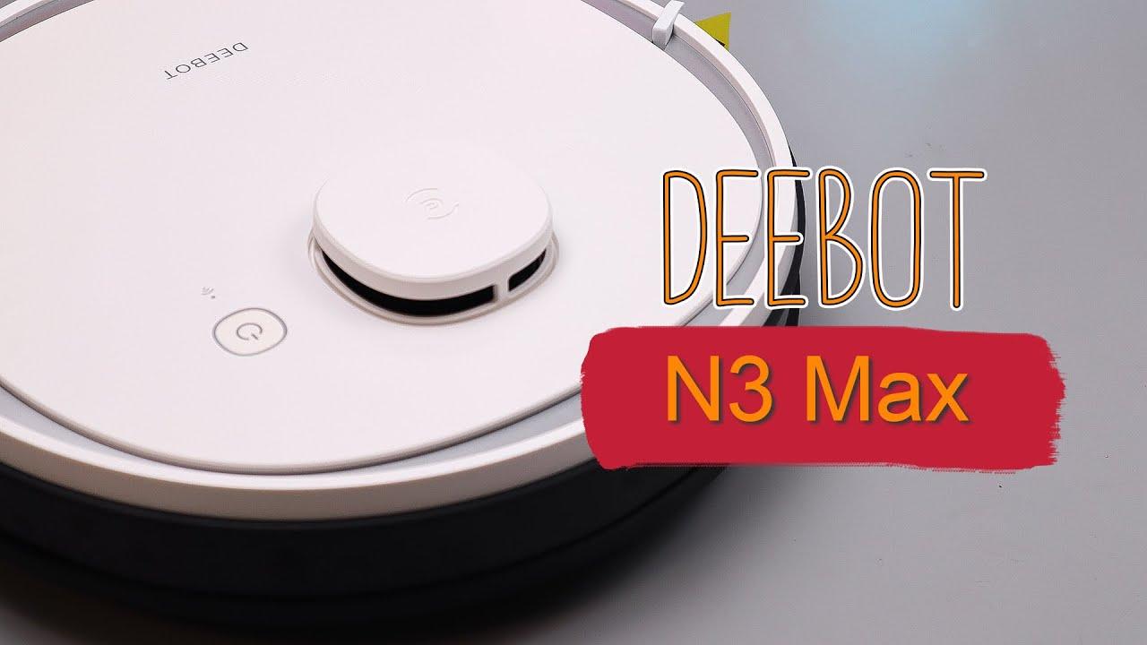ECOVACS Deebot N3 Max - НОВИНКА 2020 от конкурентов XIAOMI!