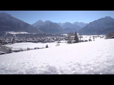 Winterurlaub in Oberstdorf