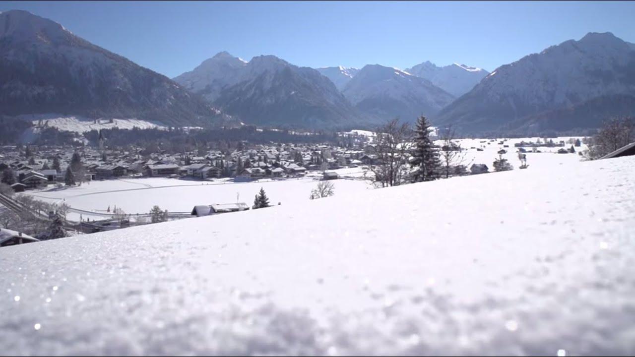 winterurlaub in oberstdorf im allg u youtube