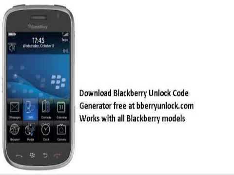 Free blackberry unlock code gsmhosting.