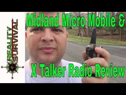 Midland Micro Mobile MXT 100 and X Talker Walkie Talkie Review and Field Tests