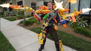 Nerf War: The Kidnapping!