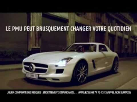 hitpub notez cette pub de 0 a 20 pmu avec la voiture youtube. Black Bedroom Furniture Sets. Home Design Ideas