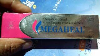 MEGAHEL - Gel ( जले हुए घाव को ठीक करने की सबसे लोकप्रिय Cream ) Review in Hindi