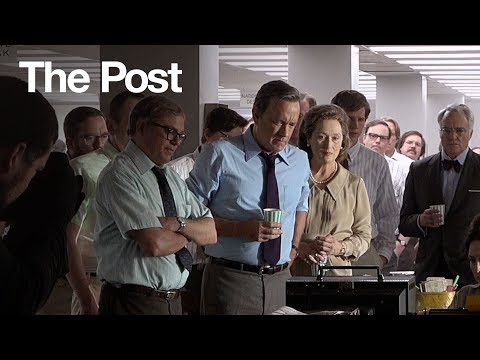 The Post | Steven Spielberg Directs Meryl Streep & Tom Hanks | 20th Century FOX