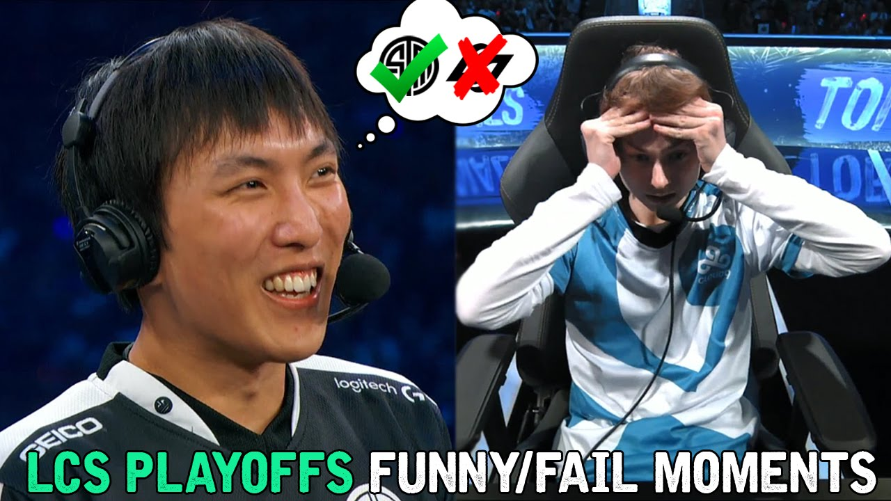 LCS PLAYOFFS FUNNY/FAIL MOMENTS   2016 Summer time Break up
