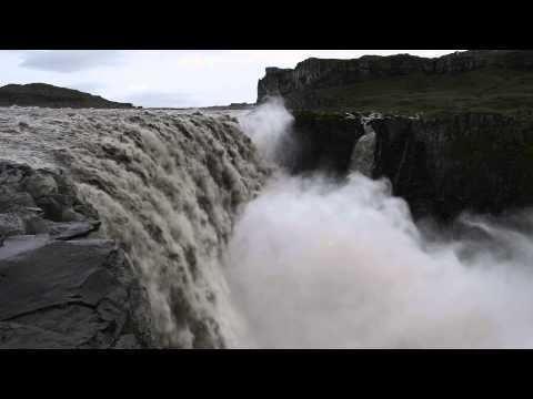 Amazing Dettifoss Waterfall in iceland