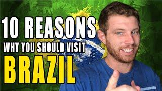 Baixar 10 REASONS WHY YOU SHOULD VISIT BRAZIL, NOW! (porque os Gringos devem conhecer o Brasil)