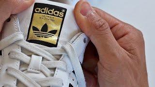 Encogerse de hombros Colega Despertar  Cómo reconocer Adidas Superstar originales? - YouTube