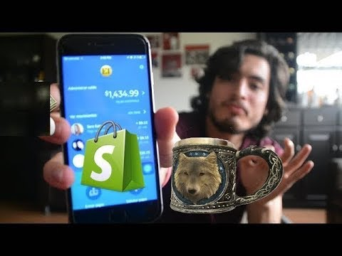 I'm Making $40 a Day on SHOPIFY!! (Drop Shipping 2017)