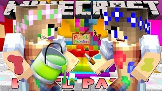 Minecraft - Little Kelly Pixel Painters : PAINTING WITH LITTLE CARLY!