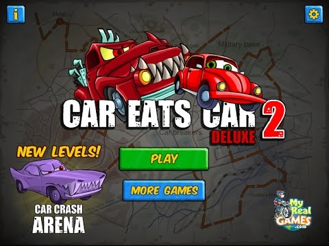 Car Eats Car 2 Deluxe Game Play Online level 6 - 10 Final