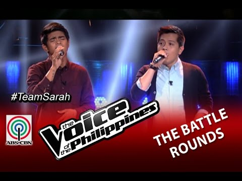 "The Voice Of The Philippines Battle Round ""On Bended Knees"" By Daniel Ombao And Jason Dy (Season 2)"