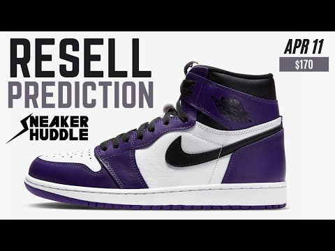HOLD Or SELL?!? | Air Jordan 1 'Court Purple' | Resell Prediction + Release Info