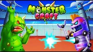 Крафтим Монстров СОЗДАЙ СВОЕГО МОНСТРА питомца игра на андроид в игре Monster Craft