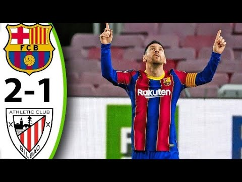 Barcelona vs Athletic Bilbao 2-1 Extended Highlights All Goals HD