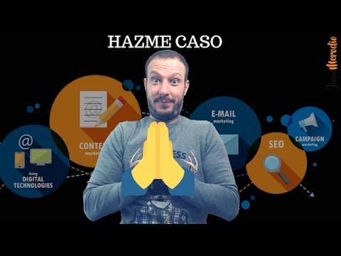 Si quieres TENER ÉXITO en MARKETING DIGITAL ¡HAZME CASO!